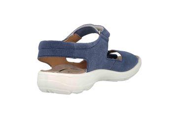 Jomos  Sandalen in Übergrößen Blau 890607 987 8096 große Damenschuhe – Bild 3