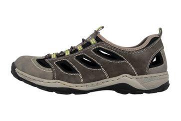 Rieker Sneaker in Übergrößen Grau 08065-40 große Herrenschuhe – Bild 1