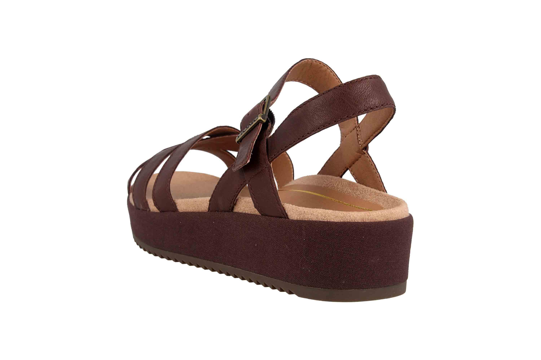 Vionic Sandaletten in Übergrößen Braun Violet Chocolate große Damenschuhe – Bild 2