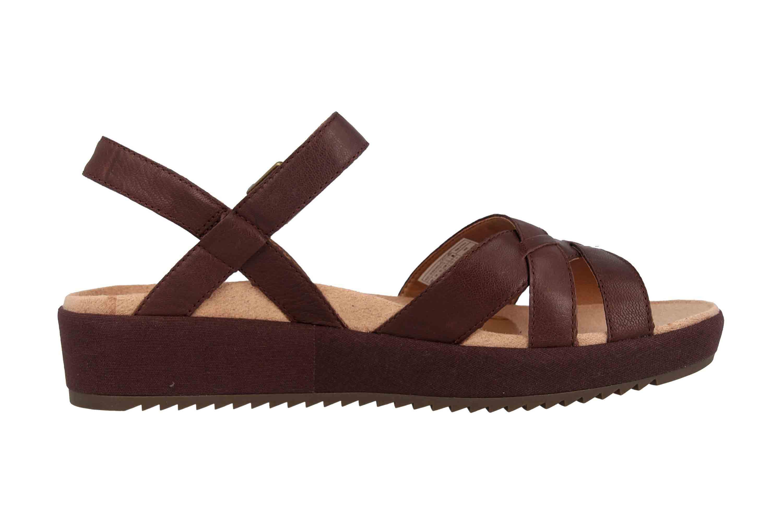 Vionic Sandaletten in Übergrößen Braun Violet Chocolate große Damenschuhe – Bild 4