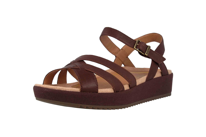Vionic Sandaletten in Übergrößen Braun Violet Chocolate große Damenschuhe – Bild 6