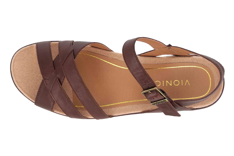 Vionic Sandaletten in Übergrößen Braun Violet Chocolate große Damenschuhe – Bild 7