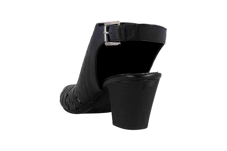 Baboos Sandaletten in Übergrößen Schwarz 19Y01.06 100 große Damenschuhe – Bild 2