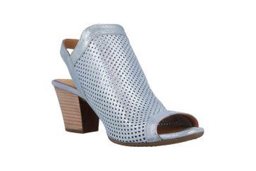 Baboos Sandaletten in Übergrößen Blau 1249-09 164 große Damenschuhe – Bild 5