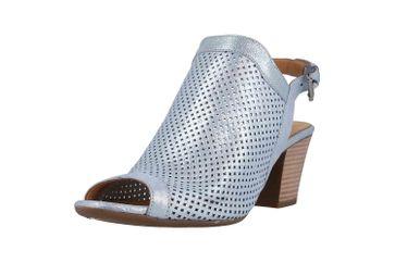 Baboos Sandaletten in Übergrößen Blau 1249-09 164 große Damenschuhe – Bild 6
