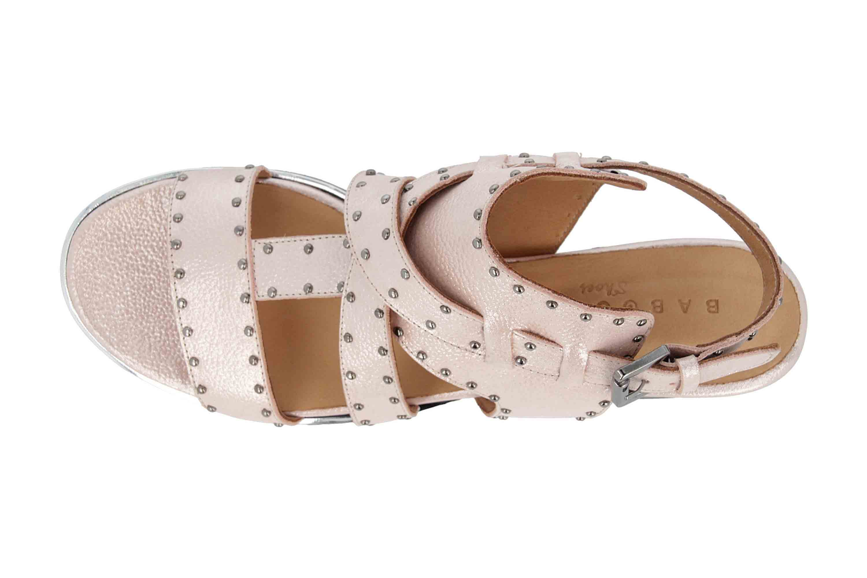 Baboos Sandaletten in Übergrößen Rose 19Y06.05 169 große Damenschuhe – Bild 7