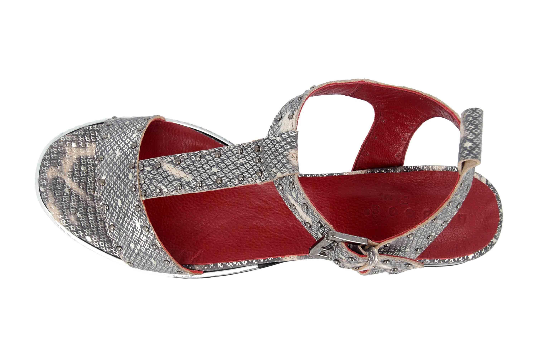 Baboos Sandaletten in Übergrößen Mehrfarbig 19Y06.01 357 große Damenschuhe – Bild 7