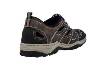 Rieker Sneaker in Übergrößen Grau 08065-02 große Herrenschuhe – Bild 3