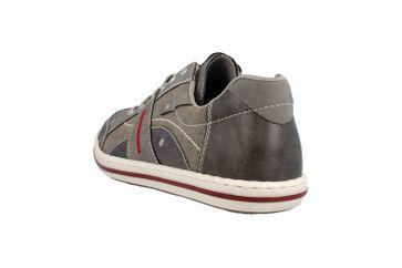 Rieker Sneaker in Übergrößen Grau 19013-42 große Herrenschuhe – Bild 2