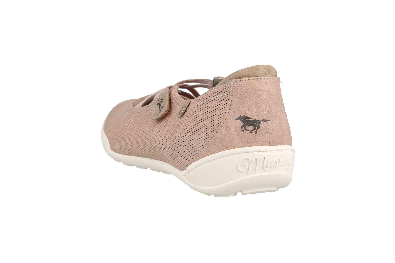 Mustang Shoes Ballerinas in Übergrößen Rose 1314-201-555 große Damenschuhe – Bild 2