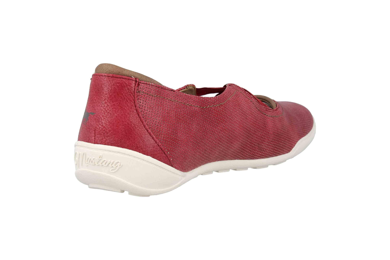 Mustang Shoes Ballerinas in Übergrößen Rot 1314-201-55 große Damenschuhe – Bild 3