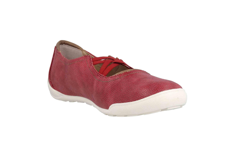 Mustang Shoes Ballerinas in Übergrößen Rot 1314-201-55 große Damenschuhe – Bild 5