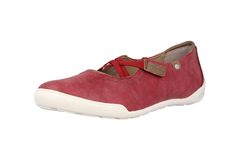 Mustang Shoes Ballerinas in Übergrößen Rot 1314-201-55 große Damenschuhe – Bild 6