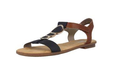 Rieker Sandaletten in Übergrößen Blau 64278-16 große Damenschuhe – Bild 6