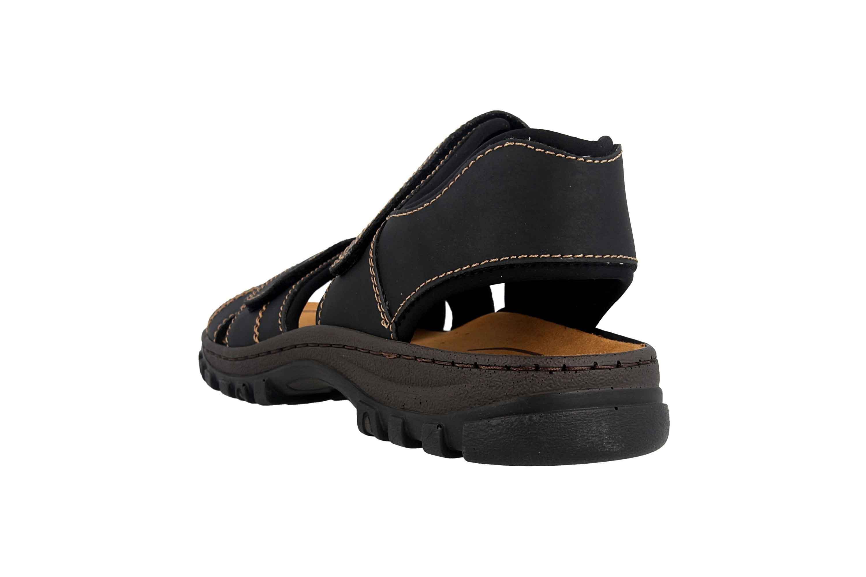 Rieker Sandalen in Übergrößen Schwarz 25051-01 große Herrenschuhe – Bild 2