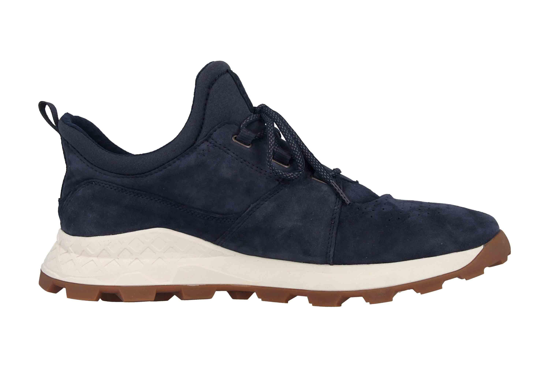 Timberland Brooklyn Oxford Sneaker in Übergrößen Blau TB0A1YVP019 große Herrenschuhe – Bild 4