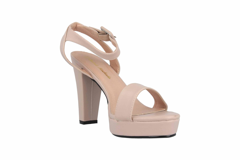 Andres Machado Sandaletten in Übergrößen Beige AM5369 Soft Beige große Damenschuhe – Bild 5