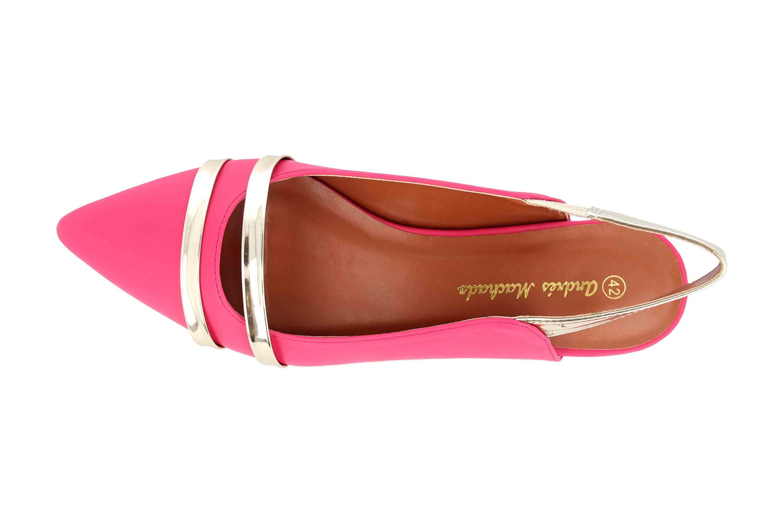 Andres Machado Sandaletten in Übergrößen Pink AM5365 Soft Fucsia große Damenschuhe – Bild 7