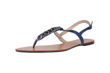 Andres Machado Sandalen in Übergrößen Blau AM5355 Brillo Azulon große Damenschuhe – Bild 6