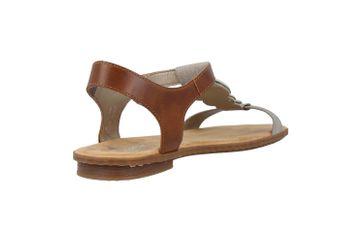 Rieker Sandaletten in Übergrößen Grau 64278-42 große Damenschuhe – Bild 3