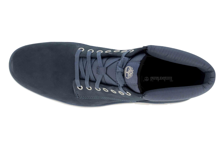 Timberland Bradstreet Chukka Leather VINTAGE INDIGO Boots in Übergrößen Blau TB0A21CW4321 große Herrenschuhe