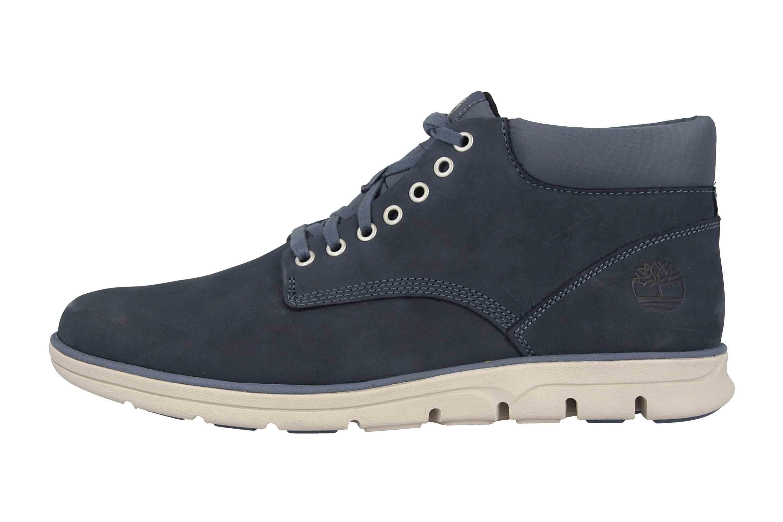 Timberland Bradstreet Chukka Leather VINTAGE INDIGO Boots in Übergrößen Blau TB0A21CW4321 große Herrenschuhe – Bild 1