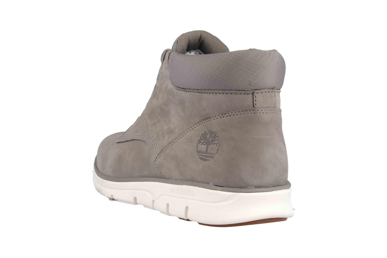 Timberland Bradstreet Chukka Leather STEEPLE GREY Boots in Übergrößen Grau TB0A22MJF491 große Herrenschuhe – Bild 2