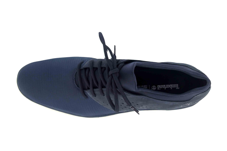 Timberland Bradstreet Fabric/Leather Oxford BLACK IRIS Sneaker in Übergrößen Blau TB0A21DU0191 große Herrenschuhe – Bild 7