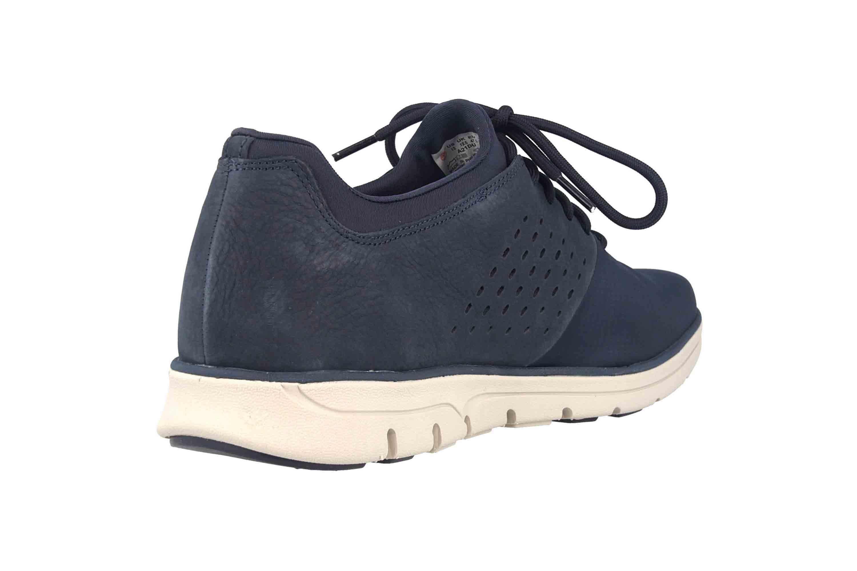 Timberland Bradstreet Fabric/Leather Oxford BLACK IRIS Sneaker in Übergrößen Blau TB0A21DU0191 große Herrenschuhe – Bild 3