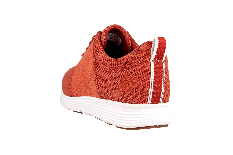 Timberland Killington FlexiKnit Ox Burnt Brick Sneaker in Übergrößen Rot TB0A1ZWUS431 große Herrenschuhe – Bild 2