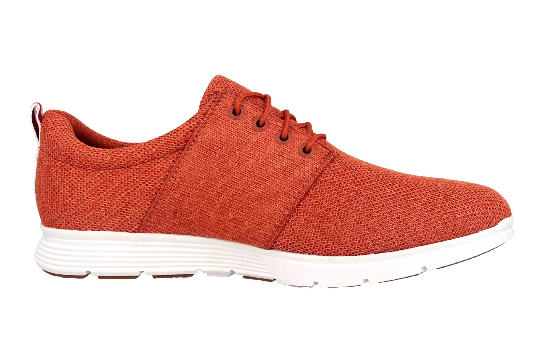 Timberland Killington FlexiKnit Ox Burnt Brick Sneaker in Übergrößen Rot TB0A1ZWUS431 große Herrenschuhe – Bild 4