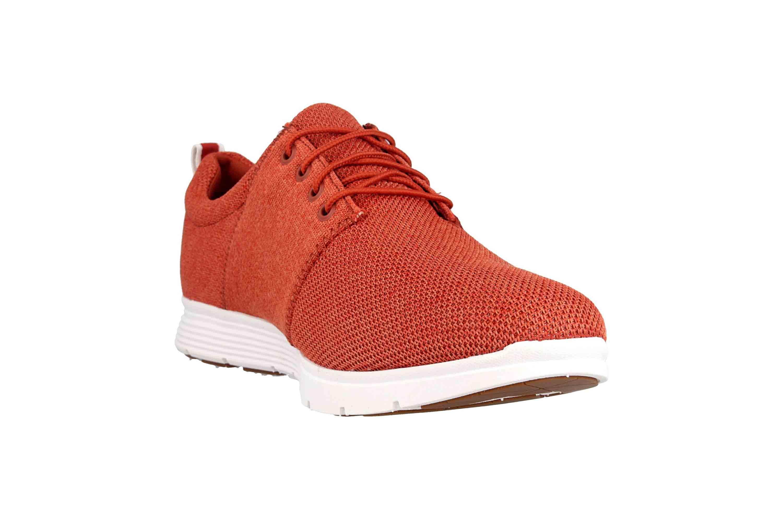 Timberland Killington FlexiKnit Ox Burnt Brick Sneaker in Übergrößen Rot TB0A1ZWUS431 große Herrenschuhe – Bild 5