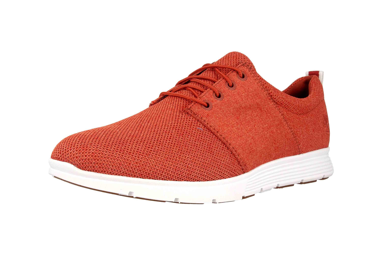 Timberland Killington FlexiKnit Ox Burnt Brick Sneaker in Übergrößen Rot TB0A1ZWUS431 große Herrenschuhe – Bild 6