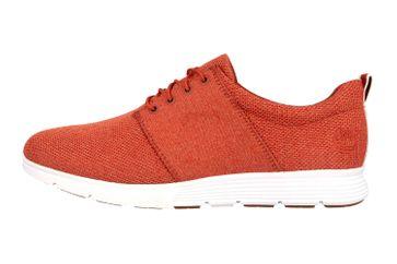 Timberland Killington FlexiKnit Ox Burnt Brick Sneaker in Übergrößen Rot TB0A1ZWUS431 große Herrenschuhe – Bild 1