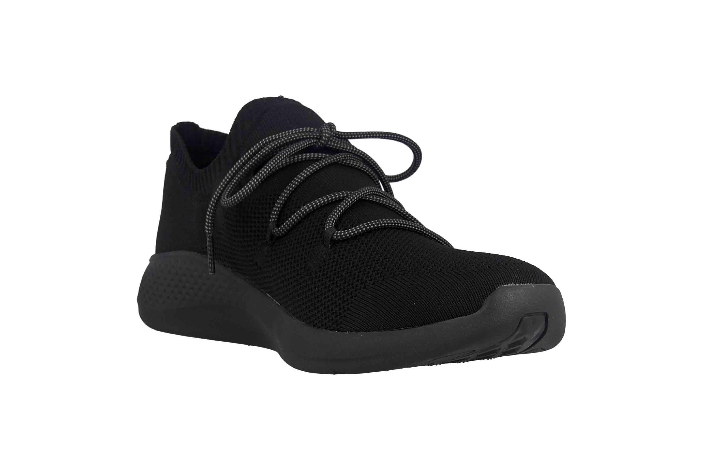 Timberland Fly Roam Go Stohl Oxford Jet Black Sneaker in Übergrößen Schwarz TB0A1Z6G0151 große Herrenschuhe – Bild 5