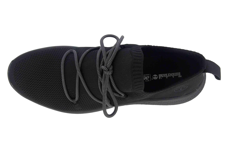 Timberland Fly Roam Go Stohl Oxford Jet Black Sneaker in Übergrößen Schwarz TB0A1Z6G0151 große Herrenschuhe – Bild 7
