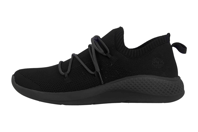 Timberland Fly Roam Go Stohl Oxford Jet Black Sneaker in Übergrößen Schwarz TB0A1Z6G0151 große Herrenschuhe – Bild 1