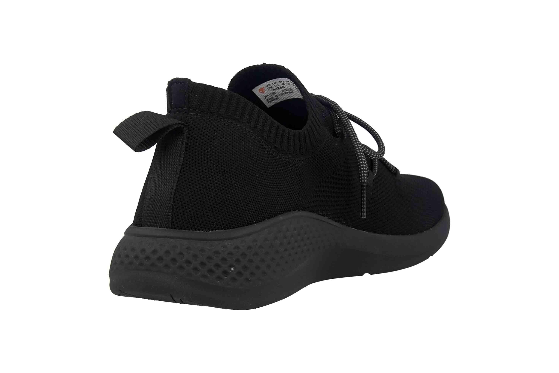 Timberland Fly Roam Go Stohl Oxford Jet Black Sneaker in Übergrößen Schwarz TB0A1Z6G0151 große Herrenschuhe – Bild 3
