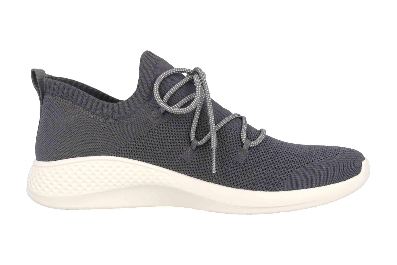 Timberland Fly Roam Go Stohl Oxford Castlerock Sneaker in Übergrößen Grau TB0A1Z7P0331 große Herrenschuhe – Bild 4