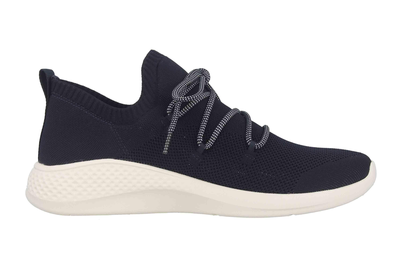 Timberland Fly Roam Go Stohl Oxford Black Iris Sneaker in Übergrößen Schwarz TB0A1XP80191 große Herrenschuhe – Bild 4