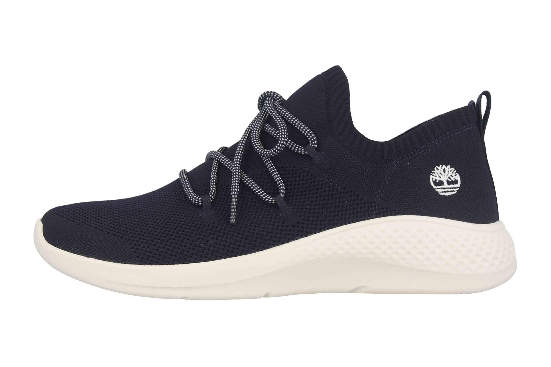 Timberland Fly Roam Go Stohl Oxford Black Iris Sneaker in Übergrößen Schwarz TB0A1XP80191 große Herrenschuhe – Bild 1