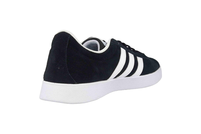Adidas VL Court 2.0 Sneaker in Übergrößen Schwarz DA9887 große Damenschuhe – Bild 3