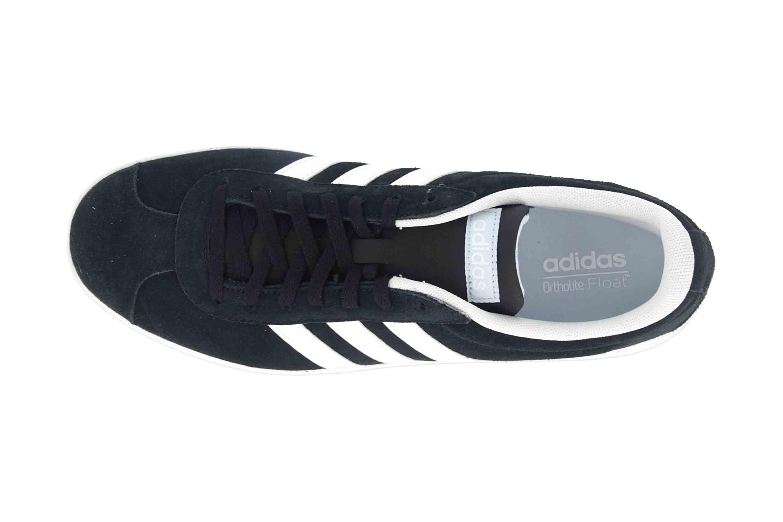 Adidas VL Court 2.0 Sneaker in Übergrößen Schwarz DA9887 große Damenschuhe – Bild 7