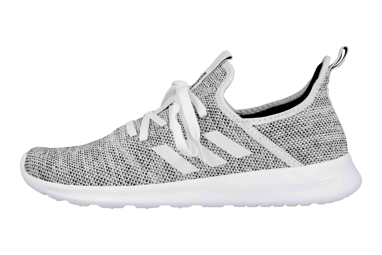 Adidas Cloudfoam Pure Sneaker in Übergrößen Grau DB0695 große Damenschuhe – Bild 1