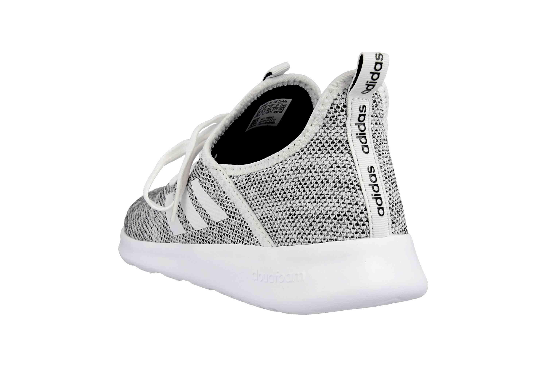 Adidas Cloudfoam Pure Sneaker in Übergrößen Grau DB0695 große Damenschuhe – Bild 2
