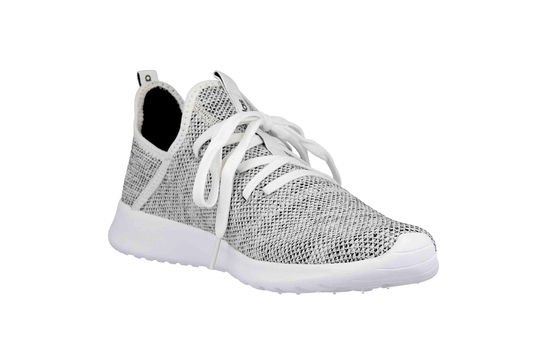 Adidas Cloudfoam Pure Sneaker in Übergrößen Grau DB0695 große Damenschuhe – Bild 5