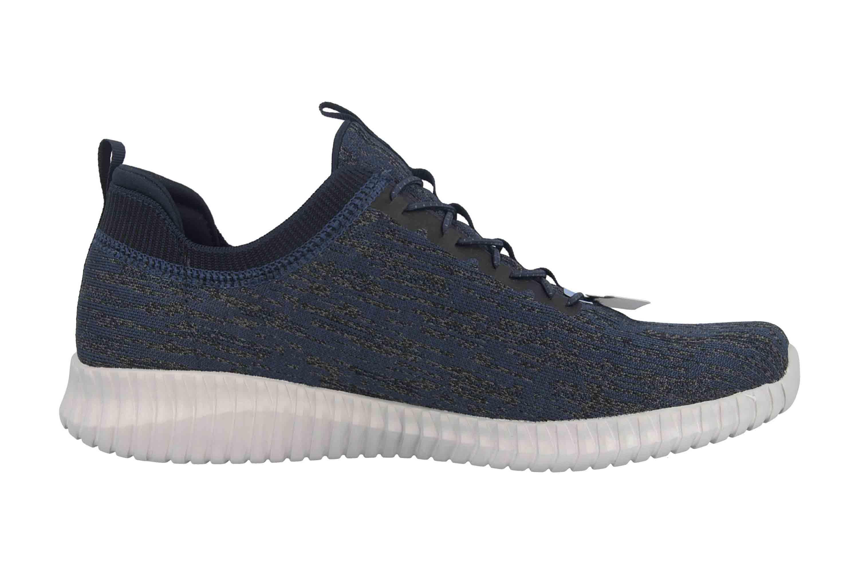 Skechers Elite Flex-Hartnell Sneaker in Übergrößen Blau 52642NVY große Herrenschuhe – Bild 4