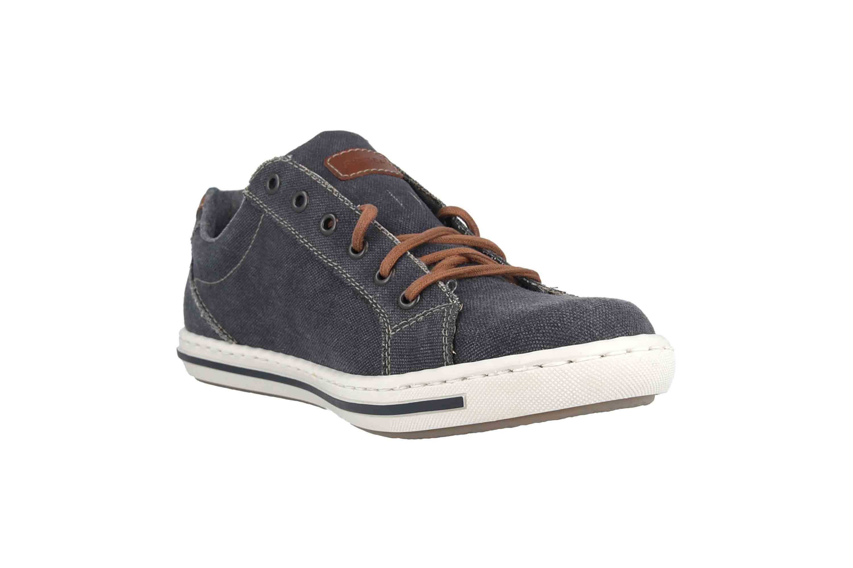 Rieker Sneaker in Übergrößen Blau 19011-14 große Herrenschuhe – Bild 5