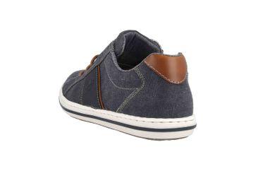 Rieker Sneaker in Übergrößen Blau 19011-14 große Herrenschuhe – Bild 2