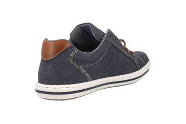 Rieker Sneaker in Übergrößen Blau 19011-14 große Herrenschuhe – Bild 3